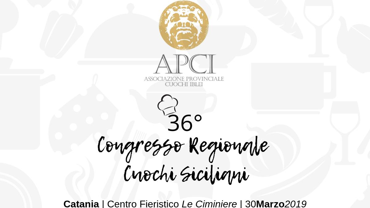 36° Congresso Regionale Cuochi Siciliani | APCI RAgusa