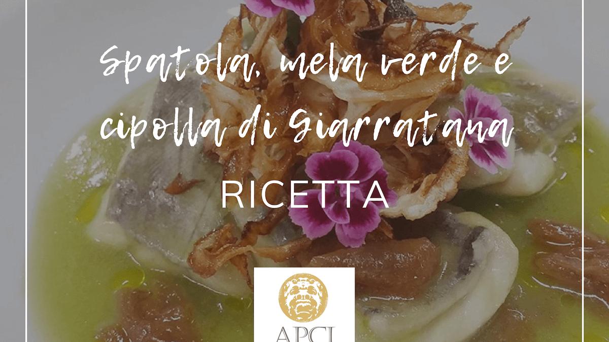 Spatola, mela verde e cipolla di Giarratana | APCI Ragusa